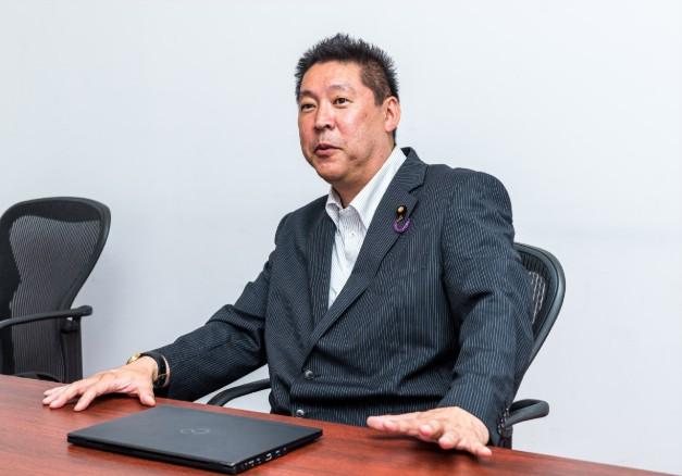 N国党代表 立花孝志氏